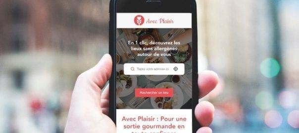 Avec Plaisir - application mobile pour localiser des produits sans allergene
