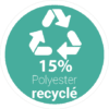 15-pourcent-polyester-recycle