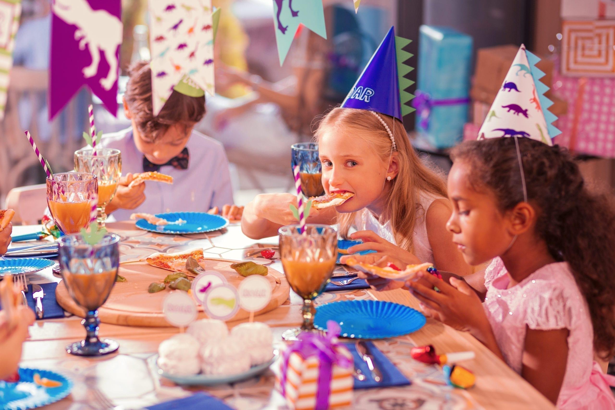 enfant allergique à un goûter d'anniversaire