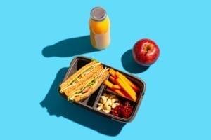 boîte à repas pour enfant allergique
