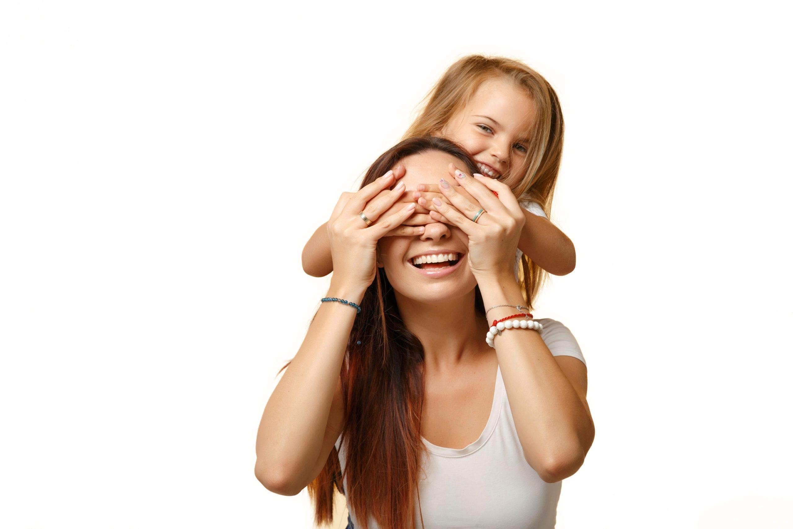 fille allergique avec sa maman