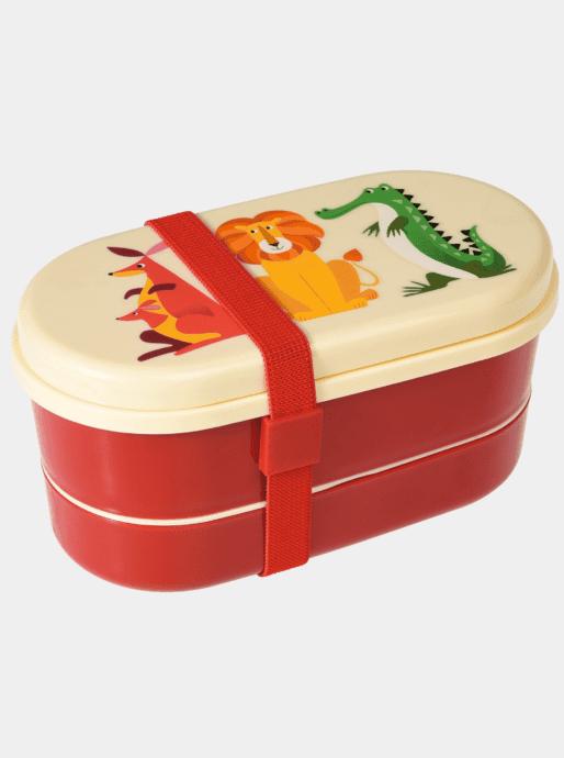 boîte à repas créatures colorées