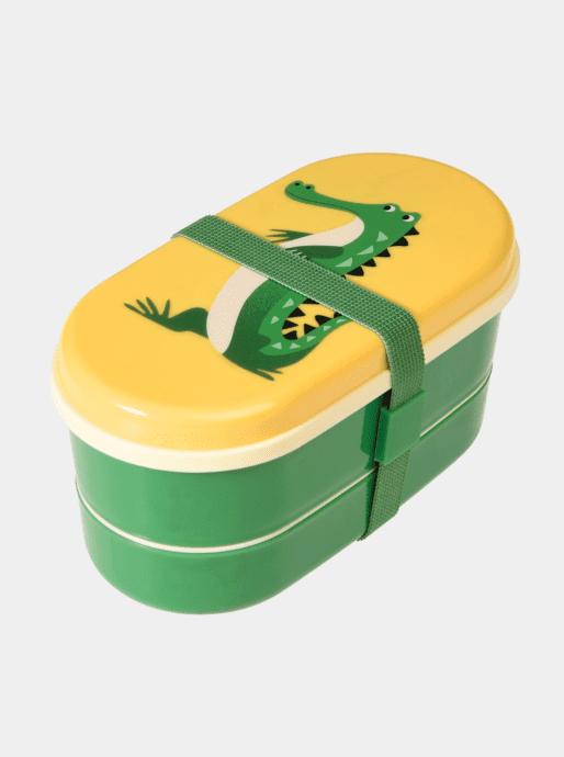 boîte à repas crocodile